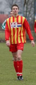 Bart van der Krieken, tegen Reusel Sport in het seizoen 2008-2009 in 2 duels 4x succesvol.