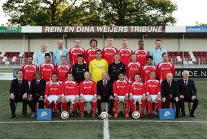 JVC Cuijk doet het uitstekend in de topklasse en staat tweede achter koploper AFC.