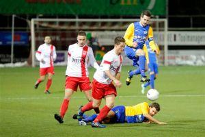 Vorig seizoen wist Rood-Wit thuis met 2-0 van RKVVO te winnen. (foto Jurgen van Hoof)