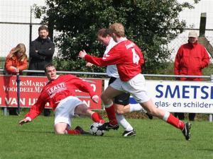 De laatste competitiewedstrijd tegen RKDSV werd door Beerse Boys met 2-1 gewonnen.