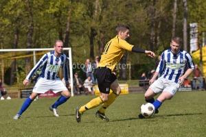 Zondag een vijfde ontmoeting tussen Dommelen en Reusel Sport. (foto Jan Wijten)