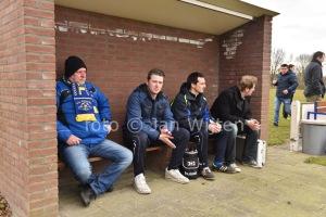 Wil Snoeren (links) gaat Hulsel verlaten. (foto Jan Wijten)