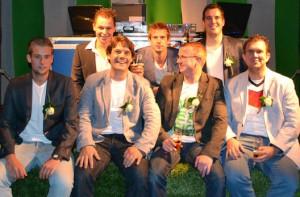 Het bestuur van De Zuiderburen, de tweede voetbalvereniging van Reusel.